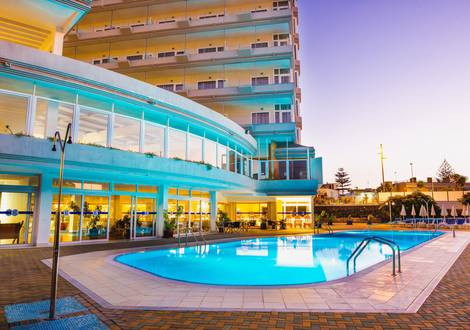 Schwimmbad HL Suitehotel Playa del Ingles**** Hotel Gran Canaria